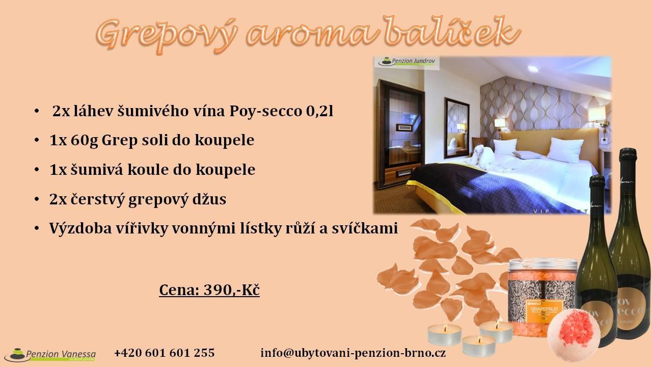 wellness balíčky, penzion Brno